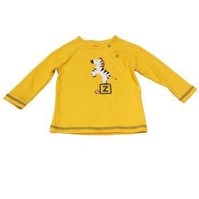 Blusão Manga Longa Raglã Em Suedine - Zebra 3d - Amarelo - F