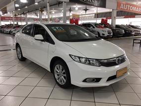Honda Civic 1.8 Lxs Flex Aut. 4p - 2014 - Branco
