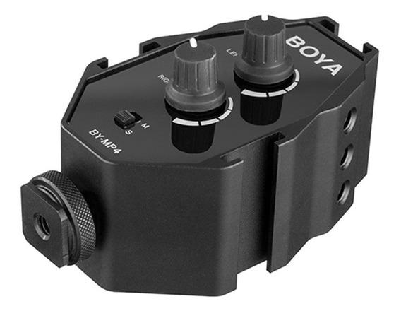Adaptador De Audio Boya P/ Cameras/smartphones/filmadoras
