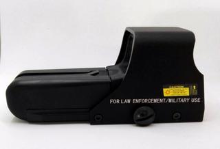 Mira Tactica Tipo Eotech 552 Holográfica Negra