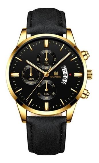 Relógio De Quartzo Business Casual Para O Homem Shaarms