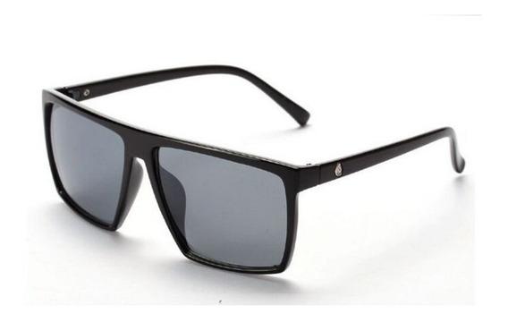 Óculos De Sol Quadrado Cranio Preto Uv400 Masculino Feminino