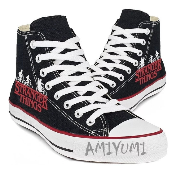 Tênis All Star Converse Stranger Things Bicicleta Logo