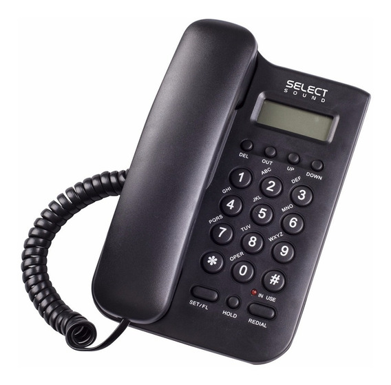 Teléfono De Escritorio Select Sound Alámbrico Con Caller Id
