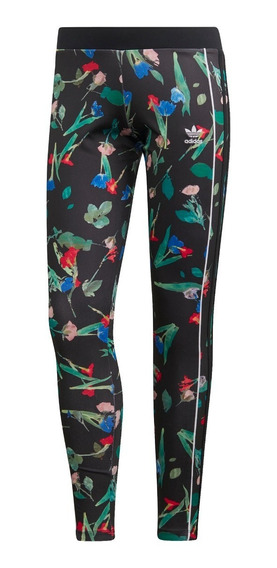 Calza adidas Originals Allover Print Floral De Mujer