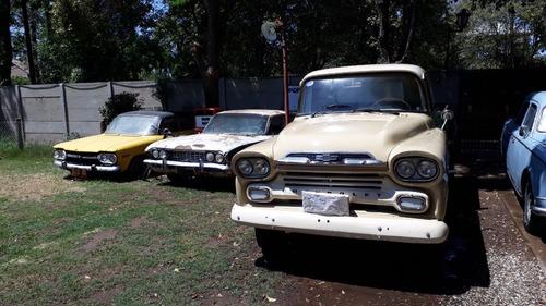 Pick Up Chevrolet Apache Año 1959 Viking Titular Con Gnc