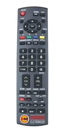 Controle Remoto Tv Panasonic Viera Th-42pv70lb / Th-50pv70lb
