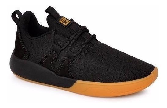 Tênis Hocks Skate Sneaker Galáctica Preto Black Gum