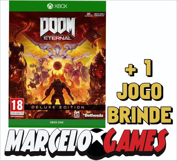 Doom Eternal Deluxe Edition Xbox One Midia Digital