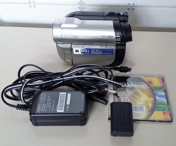 Sony - Câmera Filmadora Digital Dvd Dcr-dvd650