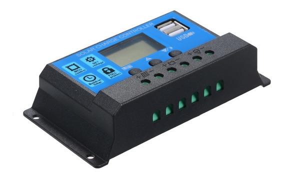 Regulador Inteligente Do Controlador Pwm Da Carga Solar De