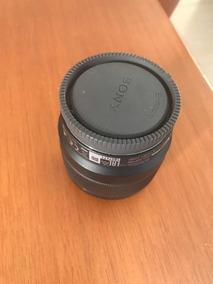 Lente Sony Original 50mm Fe 1.8