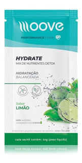 Isotônico Natural Moove Hydrate 20g - Moove Nutrition