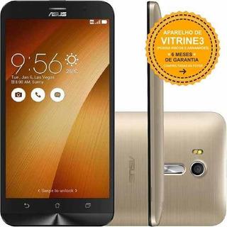 Asus Zenfone Go Live Zb551k 32gb/2gb 13mp Dourado Vitrine 3