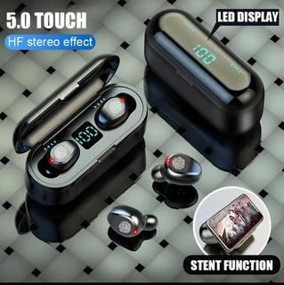 Fone De Ouvido Bluetooth F9 5.0 Tws Stereo Pronta Entrega