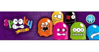 Spooky Friends Fantasmas Con Luz Flota Y Desliza Tv Lelab