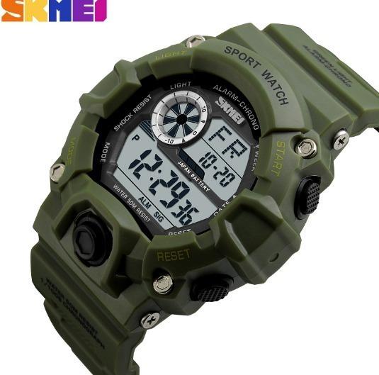 Relógio Masculino Militar Esportivo Prova D