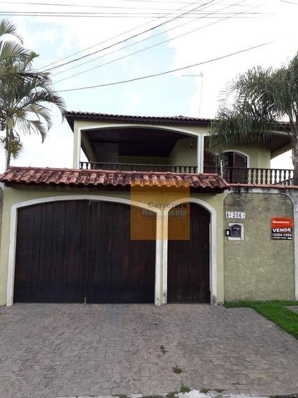 Casa Com 3 Dormitórios À Venda, 310 M² Por R$ 692.000,00 - Jardim Santa Maria - Jacareí/sp - Ca1651
