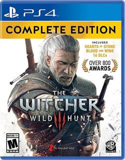 The Witcher 3 Complete Edition Fisico Ps4 Nuevo Sellado
