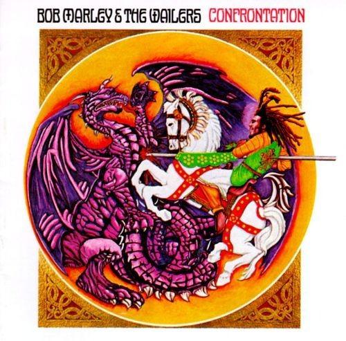 Lp Bob Marley & The Wailers Confrontation Vinil Novo 180g