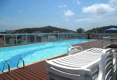 Apartamento Com 1 Quarto Para Alugar, 47 M² - Icaraí - Niterói/rj - Ap0854