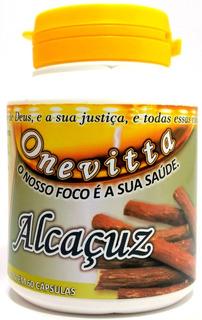 Regaliz Alcaçuz, Cápsulas/500mg 100%natural Kit 36 Potes