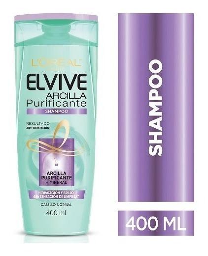 Shampoo Elvive Arcilla Purificante L