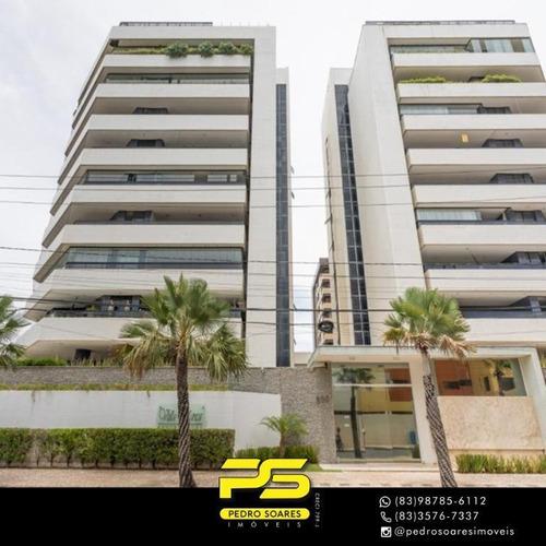 Apartamento Com 4 Dormitórios À Venda, 440 M² Por R$ 1.399.000 - Intermarés - Cabedelo/pb - Ap3921