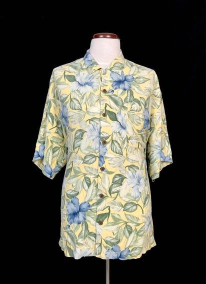 Camisa Tommy Bahama 100% Sedan Silk Xxl