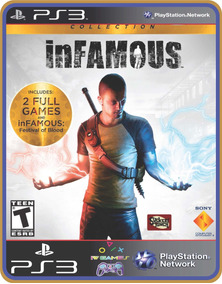Infamous Collection Ps3 Psn Original Mídia Digital