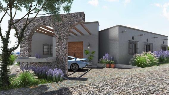 Casa Con Departamento De 1 Planta En Sn Miguel Allende