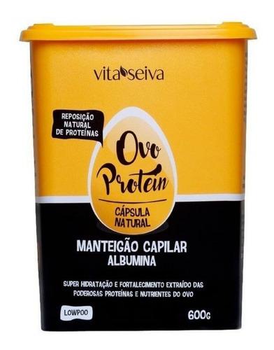 Vita Seiva Manteigão Capilar Ovo Protein 600g Low Poo