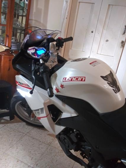 Motor Lonsin Gp250 Año 2017 Como Nuevo Color Blanco