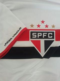 Camisa Oficial São Paulo Under Armour Slim M Vinícius