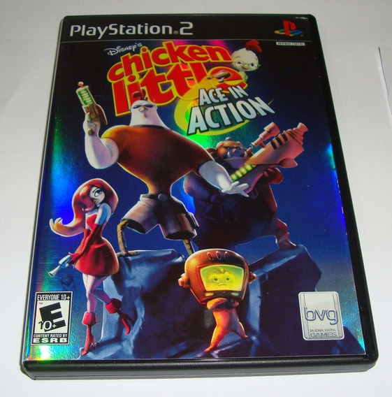 Chicken Little Ace In Action Original Completo Ps2 Cr $15