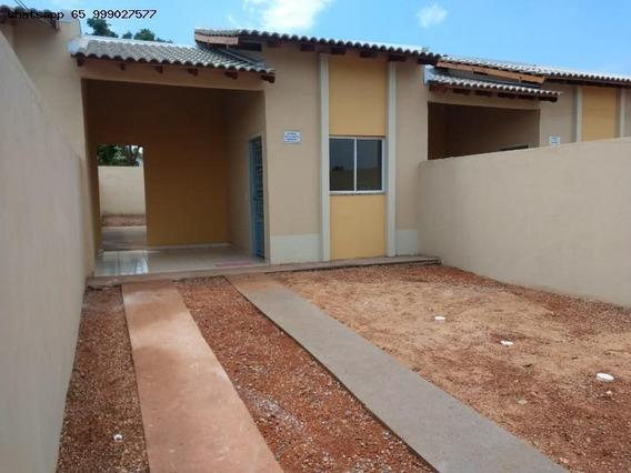Casa Para Venda Em Várzea Grande, Paiaguas, 2 Dormitórios, 1 Banheiro, 2 Vagas - 201_1-1304979