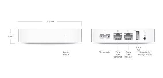 Apple Airport Express,novo Modelo A1392 Queima De Estoque.