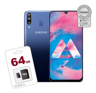 Samsung Galaxy M30 64gb+4ram +micro Sd 64gb Garantia Samsung