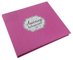 Caixa Rígida Com Álbum Aniversário