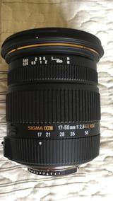 Lente Sigma 17-50mm F2.8 Ex Dc (os) Hsm For Nikon
