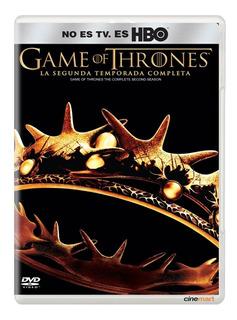 Juego De Tronos Game Of Thrones Segunda Temporada 2 Seriedvd