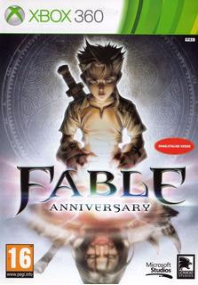 Jogo Fable Anniversary Xbox 360 Leg Português Original Game