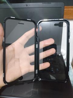 Capa Magnética Frente Verso Para iPhone 8 Plus