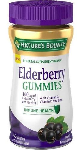 Gomitas Elderberry Aumenta Defensas Natures Bounty X40 Unids
