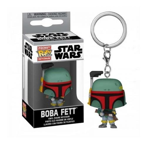 Pocket Pop ! Llavero, Boba Fett -  Star Wars