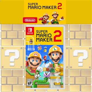 Súper Mario Maker 2 Switch Ya Fisponiblenuevo!! Físico!!!