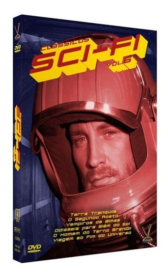 Box Original Clássicos Sci-fi Volume 6 Versátil Cards 3 Dvds