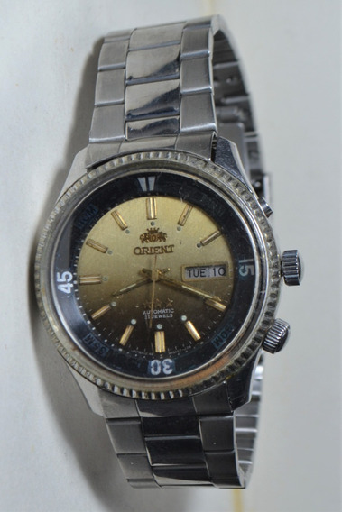 Relógio Masculino Orient 3 Estrelas Nw 469620a-7fpt