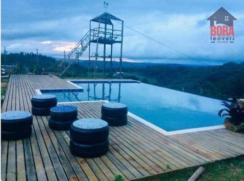 Chácara Com 3 Dormitórios À Venda, 2300 M² Por R$ 750.000 - Mato Dentro - Mairiporã/sp - Ch0229