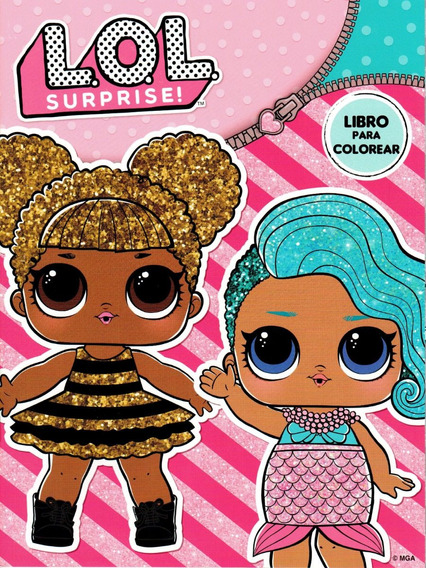 Libros Para Colorear Lol En Mercado Libre México